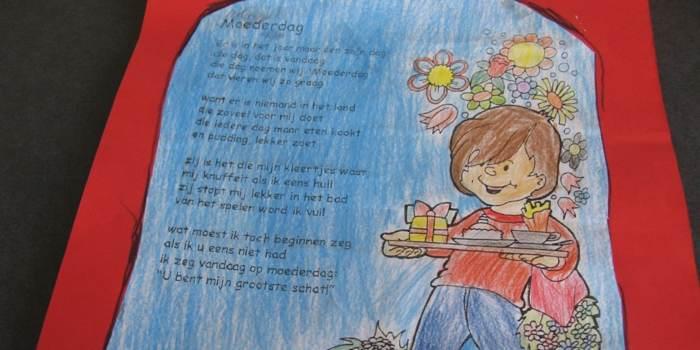 gedicht voor moederdag