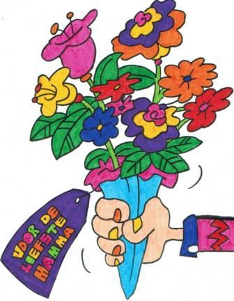 Mooie Kleurplaten Voor Moederdag.Moederdag Kleuren Lekker Kleurplaten Kleuren Leuk Om Te Doen