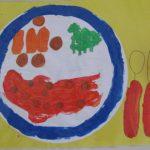 Moederdag knutsel idee: kleurrijke placemat