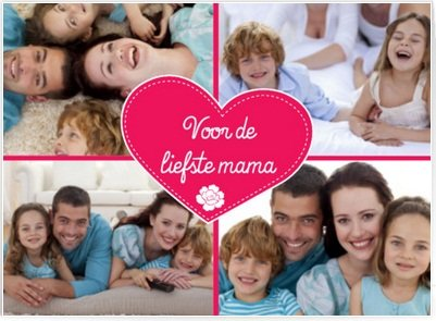 moederdagkaart via internet bestellen
