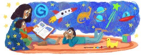 thema Moederdag Google logos