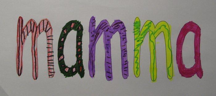 inkleuren letters leren